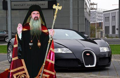 """Teodosie ii multumeste lui Becali pentru plata prejudiciului. """"Acum nu mai trebuie sa imi vand Bugatti-ul"""""""