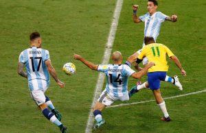 brazilia argentina messi