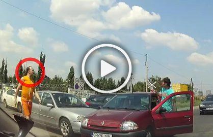 VIDEO! Sebastian Ghita a fugit in Bulgaria, dar inainte a fost implicat intr-un accident de masina!