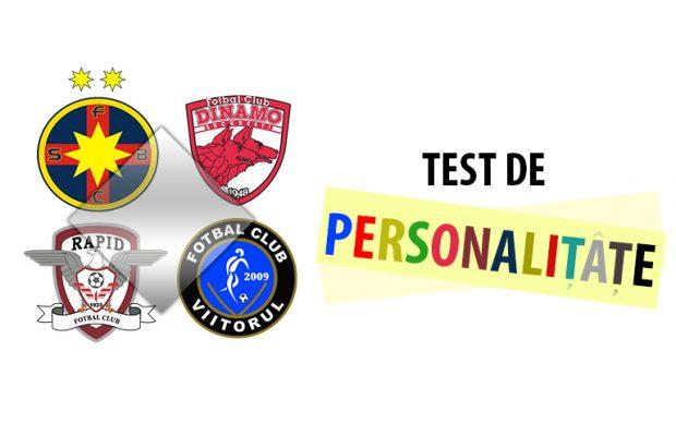 test de personalitate fotbal