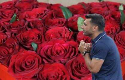 "Lazio a trimis un buchet de trandafiri imens FCSB-istilor: ""Multumim pentru aseara!"""