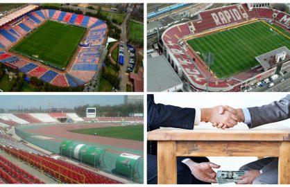 Din obisnuinta, CNI a cerut spaga la UEFA pentru a finaliza stadioanele pentru Euro 2020