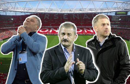 Trei antrenori de top se lupta sa-l inlocuiasca pe Wenger la Arsenal! Toti sunt romani!