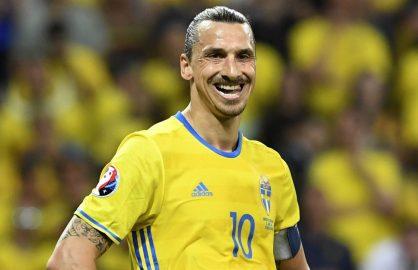 Ibrahimovic ar putea convoca nationala Suediei pentru Campionatul Mondial din 2018