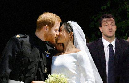 Gafa a printului Harry! L-a chemat pe John Terry la nunta, iar acum au disparut si Meghan si regina