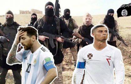 S-a aflat adevarul! Messi si Ronaldo au vrut sa plece acasa mai repede de frica ISIS-ului!