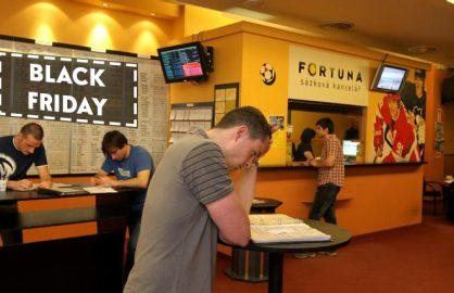 Oferte de Black Friday si la casele de pariuri! Pui un bilet si pierzi 5!