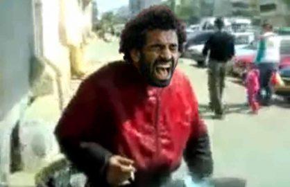 In sfarsit! Salah s-a razbunat pe Gigel pentru ca l-a udat cu galeata in urma cu cativa ani!