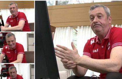 Tipic! La fel ca Dinamo, Simona a pierdut meciul pentru ca s-a uitat si Mircea Rednic