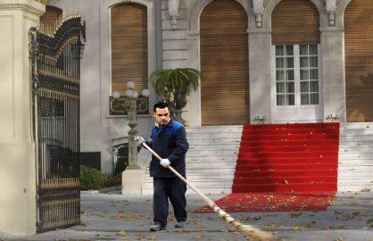 Dupa remiza cu Chiajna. Becali l-a pus pe Teja sa-i mature curtea palatului!