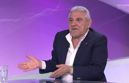 Giovani Becali este mult mai politicos de cand a iesit! In continuare scuipa oameni, dar fara muci