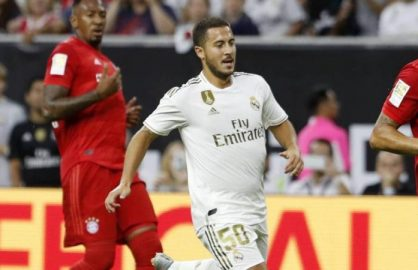 """Hazard se scuza dupa ce a fost acuzat de kilogramele in plus: """"E de la tricou! Se stie ca albul te face mai gras!"""""""