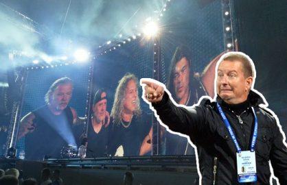 ULTIMA ORA! Ionut Chirila s-a oferit sa antreneze trupa Metallica