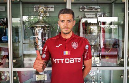 """Chipciu poate debuta la CFR impotriva celor de la FCSB! """"Asa, si? Eu am jucat la Steaua, nu la FCSB!"""""""