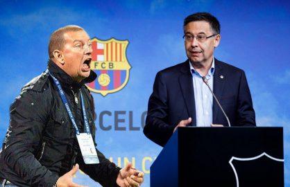 """Ionut Chirila, criza de nervi dupa aflarea noului antrenor de la Barcelona! """"Aveam intelegere cu Bartomeu!"""""""