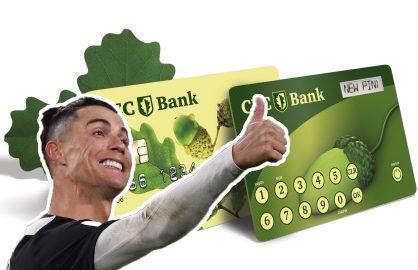 Dupa ce Messi a aparut in reclama pentru Banca Transilvania, CEC Bank l-a cautat pe Ronaldo