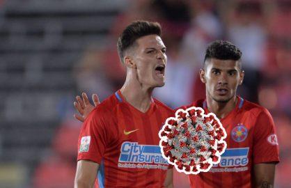 Pe langa 6 goluri, cei de la FCSB le-au dat sarbilor si covid