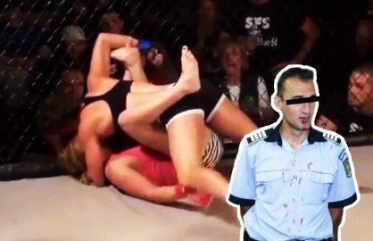 UFC, contract in alb pentru tanara care a batut patru politisti in Constanta