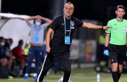 SOC! Fanii lui FCSB cer demisia antrenorului dupa trei infrangeri fara gol marcat!