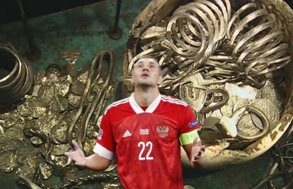 Rusia s-a razbunat dupa eliminarea de la Euro! Danezii au ramas fara tezaur!