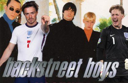 Grealish si Pickford, doriti in trupa Backstreet Boys!